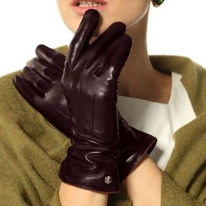 🆕️ Hairsheep Leather Gloves 100% Pure Cashmere